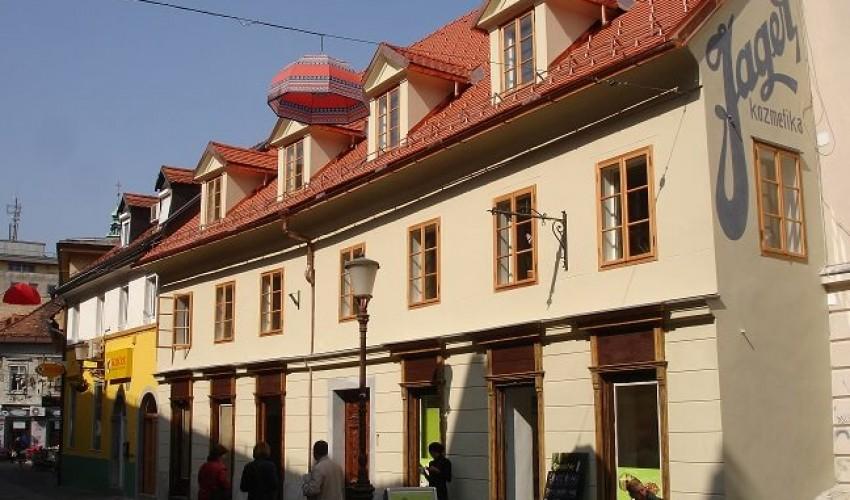 Trubarjeva ulica Ljubljana